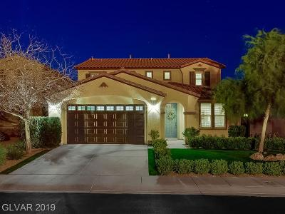 Henderson Single Family Home For Sale: 2956 Valley Basin Avenue