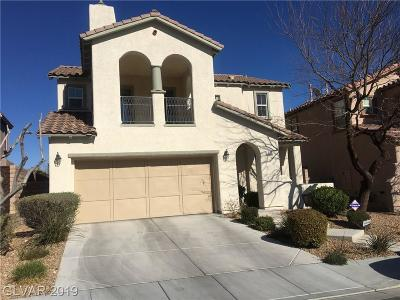 Las Vegas Single Family Home For Sale: 520 Bachelor Button Street