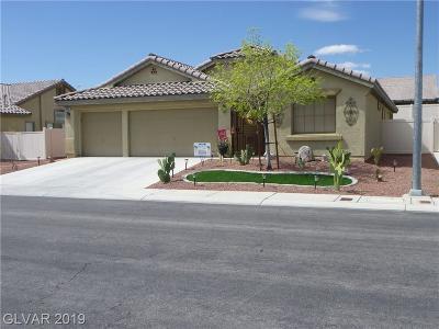 North Las Vegas Single Family Home For Sale: 5909 Felicia Court