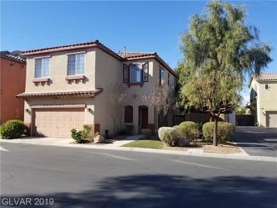 Henderson Single Family Home For Sale: 727 Easter Lily Place