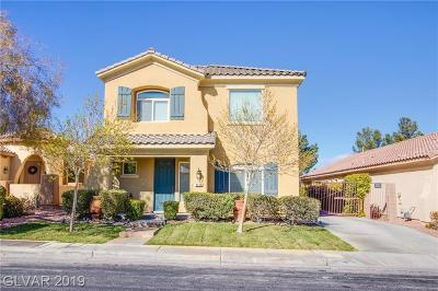 Las Vegas Single Family Home For Sale: 4498 Prada Place