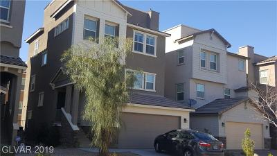 Henderson Single Family Home For Sale: 369 Gracious Way