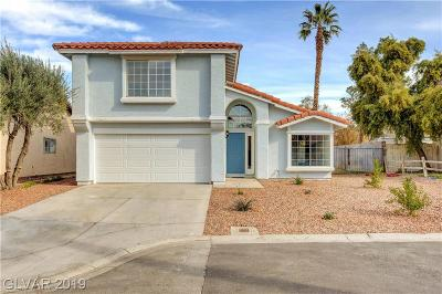 Las Vegas Single Family Home For Sale: 660 Round Table Drive