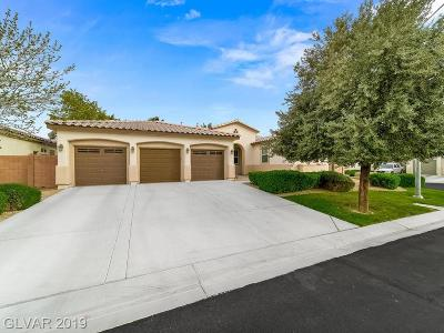 North Las Vegas Single Family Home For Sale: 6538 Green Sparrow Lane