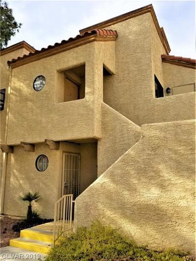 Las Vegas Condo/Townhouse For Sale: 2966 Juniper Hills Boulevard #203