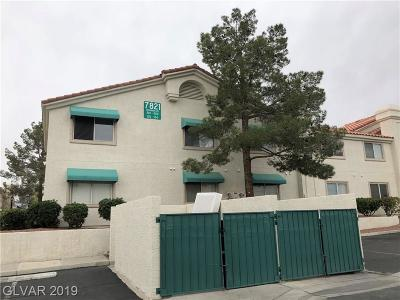 Las Vegas Condo/Townhouse For Sale: 7821 Tenshaw Avenue #203