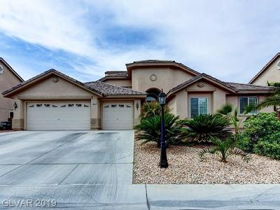 Las Vegas Single Family Home For Sale: 6217 Red Pine Court