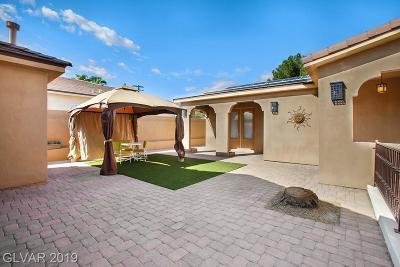 Las Vegas Single Family Home For Sale: 3915 Sunset Palm Street