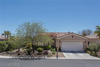 Las Vegas Single Family Home For Sale: 10355 Brillare Avenue
