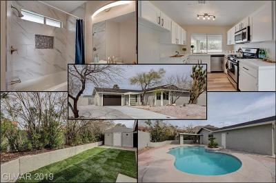 Las Vegas Single Family Home For Sale: 6890 Soldela Drive