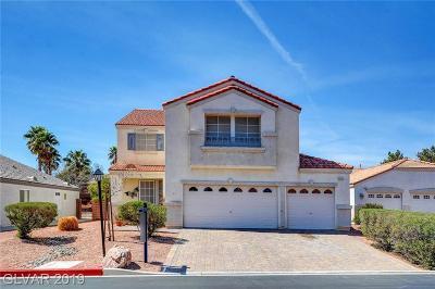 Las Vegas Single Family Home For Sale: 8033 Villa Arbol Court