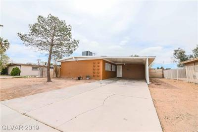 North Las Vegas Single Family Home For Sale: 2731 Perliter Avenue