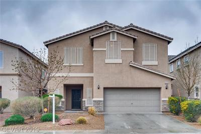 North Las Vegas Single Family Home For Sale: 6045 River Belle Street