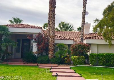 Las Vegas Single Family Home For Sale: 2231 Tioga Way