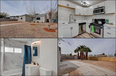 North Las Vegas Single Family Home For Sale: 820 Glendale Avenue
