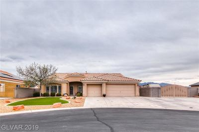 Las Vegas Single Family Home For Sale: 5200 Black Coral Avenue