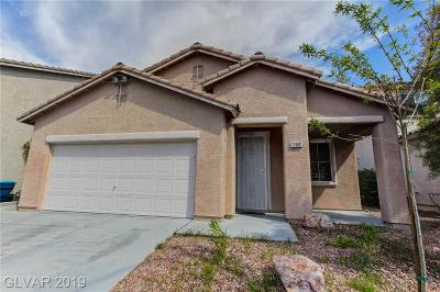 Las Vegas Single Family Home For Sale: 11682 Autunno Street