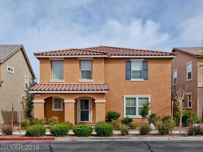 Las Vegas Single Family Home For Sale: 3212 Mist Effect Avenue