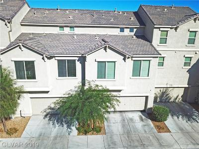 Las Vegas Condo/Townhouse For Sale: 4596 Dover Straight Street