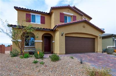 North Las Vegas Single Family Home For Sale: 4013 Elegant Alley Court