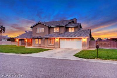 Las Vegas Single Family Home For Sale: 6420 Oquendo Road