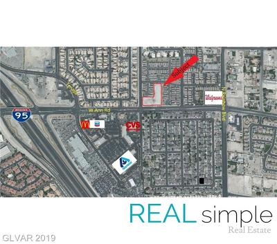 Centennial Hills Residential Lots & Land For Sale: Ann Road