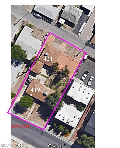 Las Vegas Multi Family Home For Sale: 419 South 11th Street