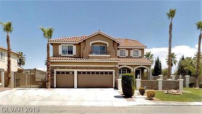 Las Vegas Single Family Home For Sale: 3164 Azure Bay Street