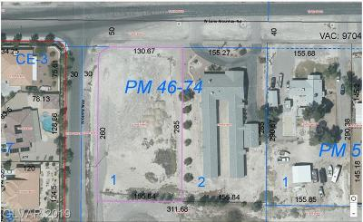 North Las Vegas Residential Lots & Land For Sale: 3471 Lone Mountain Road