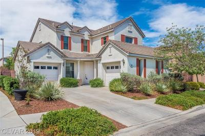 Las Vegas Single Family Home For Sale: 10464 Calico Pines Avenue