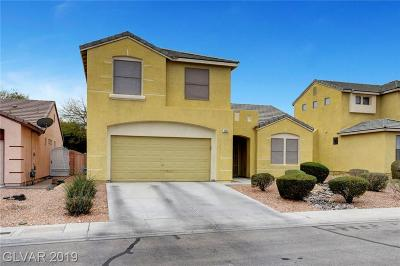 North Las Vegas Single Family Home For Sale: 3005 Chilly Nights Avenue