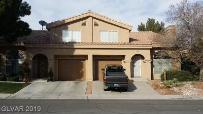 Las Vegas, Henderson Rental Under Contract - No Show: 2828 Briar Knoll Drive