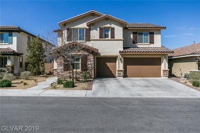 Henderson Single Family Home For Sale: 1129 Via Della Costrella