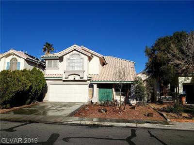 Las Vegas Single Family Home For Sale: 3342 West Wardlaw Street