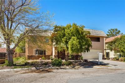 Las Vegas Single Family Home For Sale: 4431 Campus Circle