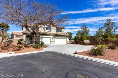 Las Vegas NV Single Family Home For Sale: $465,000
