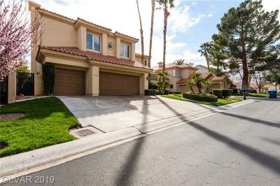 Las Vegas Single Family Home For Sale: 8745 Double Eagle Drive