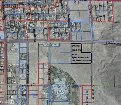 Las Vegas Residential Lots & Land For Sale: Owens Ave