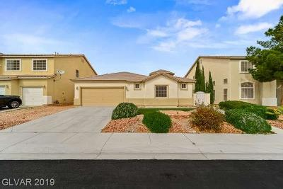 North Las Vegas Single Family Home For Sale: 332 Gray Robin Avenue