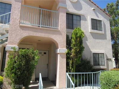 Las Vegas Condo/Townhouse For Sale: 4873 South Torrey Pines Drive #105