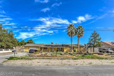 Las Vegas Single Family Home For Sale: 6150 West Washburn Road