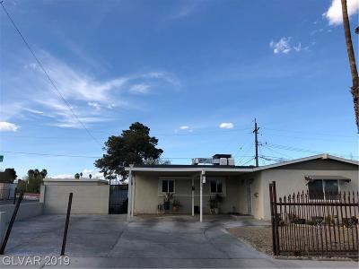 Las Vegas Single Family Home For Sale: 2901 Holly Hill Avenue