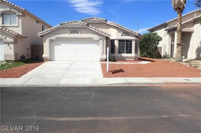 North Las Vegas Single Family Home For Sale: 4517 Possum Berry Lane