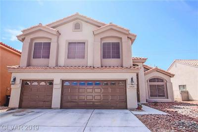 North Las Vegas Single Family Home For Sale: 1829 Camino Carlos Rey