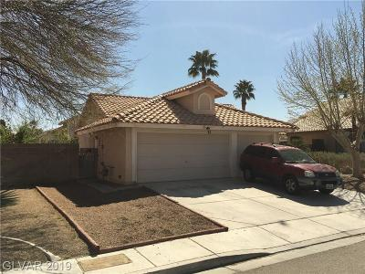North Las Vegas Single Family Home For Sale: 1621 Running Creek Drive