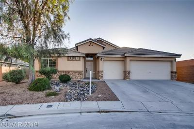 North Las Vegas Single Family Home For Sale: 7141 Goldfield Street