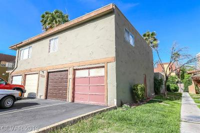 Las Vegas Condo/Townhouse For Sale: 4671 Monterey Circle #1