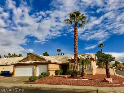 Las Vegas Single Family Home For Sale: 6816 Greenery Court