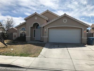 Las Vegas Single Family Home For Sale: 6809 Haven Hollow Avenue