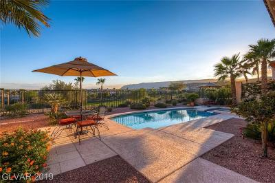 Red Rock Cntry Club At Summerl Single Family Home Under Contract - No Show: 11513 Snow Creek Avenue